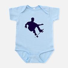 BOARDER IN BLUE Infant Bodysuit