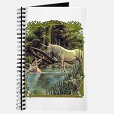 Unicorn in Woods Journal