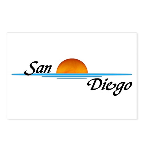 San Diego Sunset Postcards (Package of 8)
