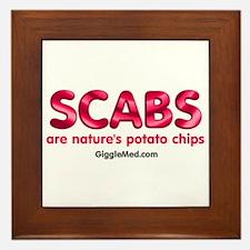 Scab Potato Chips Framed Tile