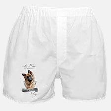German Shepherd black Boxer Shorts