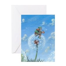 Dandelion Gnome Greeting Card
