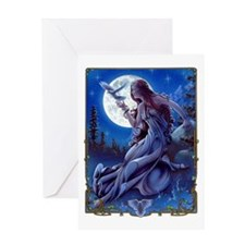 Queen of Dreams Greeting Card