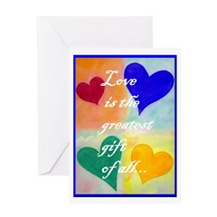 Valentine's Card -- Love is the Greatest Gift