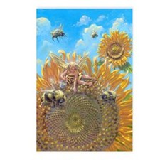 Bee Faerie Postcards (Package of 8)