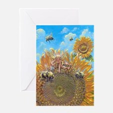 Bee Faerie Greeting Card
