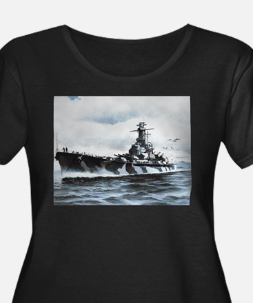 USS Alabama Ship's Image T