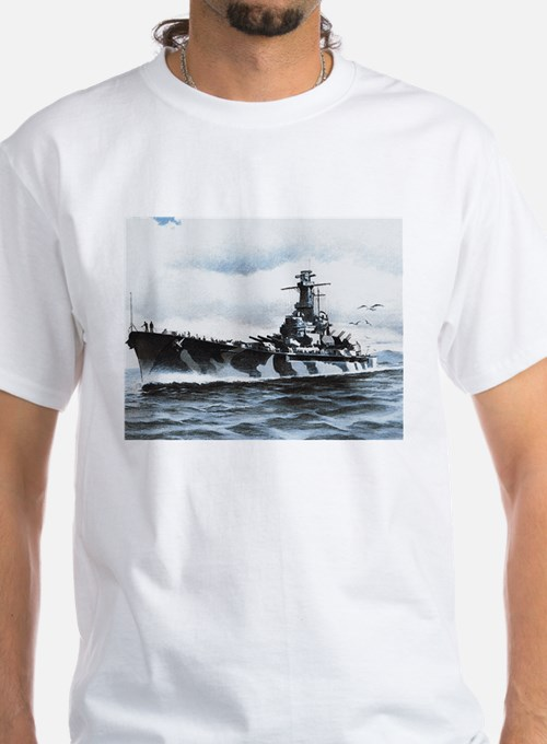 USS Alabama Ship's Image Shirt