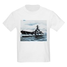 USS Alabama Ship's Image T-Shirt