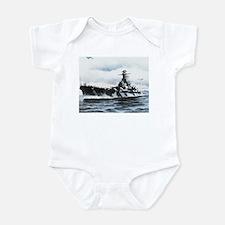 USS Alabama Ship's Image Infant Bodysuit