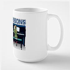 Piano Lessons Sign Mug