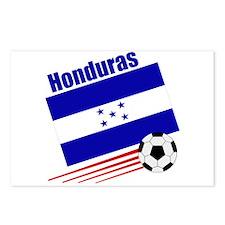 Honduras Soccer Team Postcards (Package of 8)