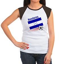 Honduras Soccer Team Women's Cap Sleeve T-Shirt