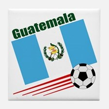 Guatemala Soccer Team Tile Coaster