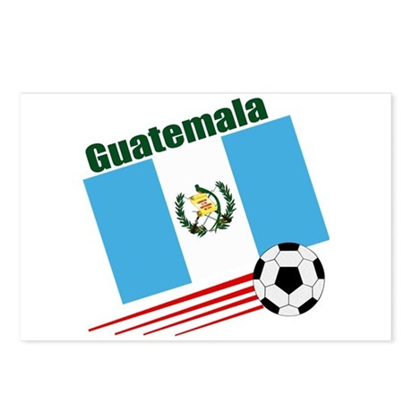 Guatemala Soccer Team Postcards (Package of 8)