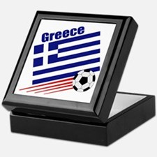 Greece Soccer Team Keepsake Box