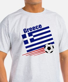 Greece Soccer Team T-Shirt