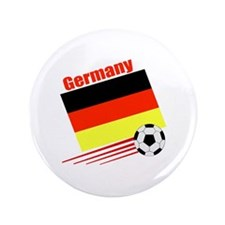 """Germany Soccer Team 3.5"""" Button (100 pack)"""