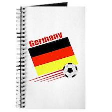 Germany Soccer Team Journal