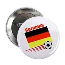 """Germany Soccer Team 2.25"""" Button (10 pack)"""