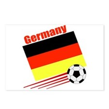 Germany Soccer Team Postcards (Package of 8)