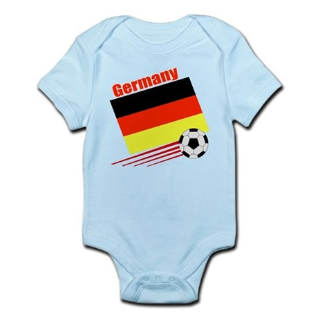 Germany Soccer Team Infant Bodysuit