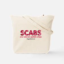 Scabs Not Food Tote Bag