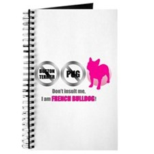 Funny Frenchie Journal