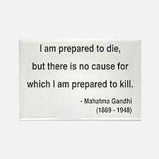 Gandhi 17 Rectangle Magnet