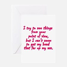 Point of View Greeting Cards