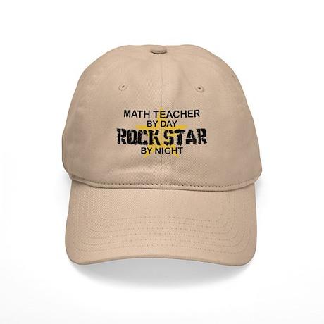 Math Teacher Rock Star Cap