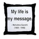 Gandhi 18 Throw Pillow