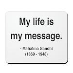Gandhi 18 Mousepad