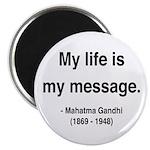 Gandhi 18 Magnet