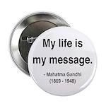 """Gandhi 18 2.25"""" Button"""