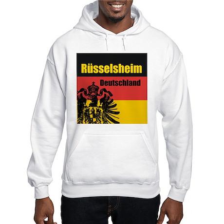 Rüsselsheim Deutschland Hooded Sweatshirt