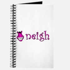 Neigh, happy pink horse. Journal
