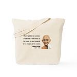 Gandhi 19 Tote Bag