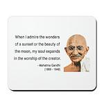 Gandhi 19 Mousepad