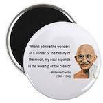 Gandhi 19 Magnet