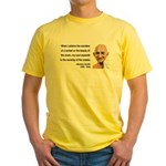 Gandhi 19 Yellow T-Shirt