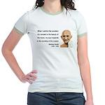 Gandhi 19 Jr. Ringer T-Shirt