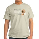 Gandhi 19 Light T-Shirt
