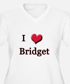 I Love (Heart) Bridget T-Shirt