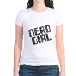 Nerd Girl Jr. Ringer T-Shirt