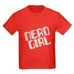 Nerd Girl Kids Dark T-Shirt