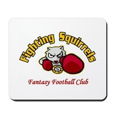 Fighting Squirrels Mousepad