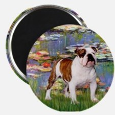Lilies & French Bulldog Magnet