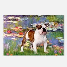 Lilies & French Bulldog Postcards (Package of 8)