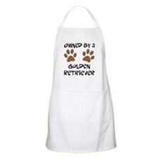 Owned By A Golden... BBQ Apron